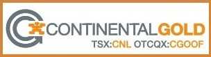 Continental Gold Logo