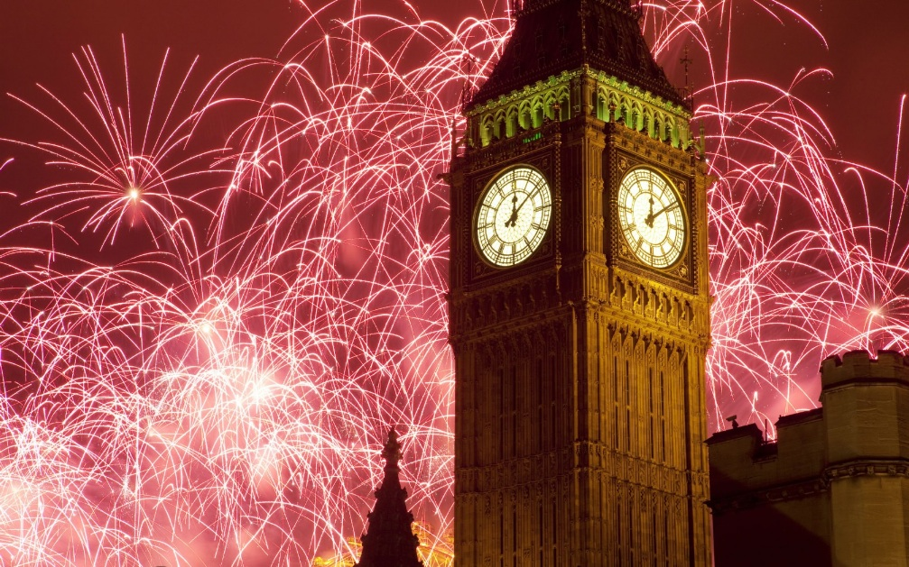 King World News - HAPPY NEW YEAR! - How The World Rings In 2015 - London