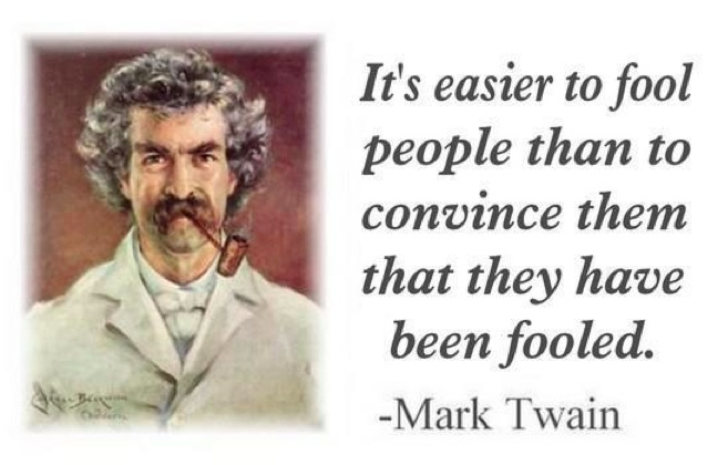 King World News - Mark Twain - Quote
