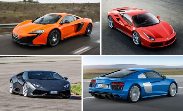By The Numbers New Audi R8 Vs Ferrari 488gtb Lamborghini Huracán Mclaren 650s King World News