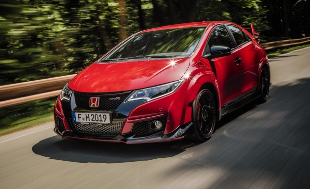 The Power Of Screams All New Honda Civic Type R Driven King