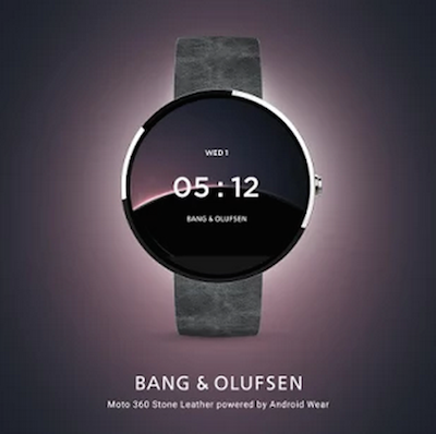 Bang Amp Olufsen Joins Smartwatch Conversation Via Google