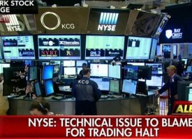 Gerald Celente – Was The Suspicious NYSE Trading Halt An Attempt To Stop A Crash In U.S. Markets?