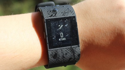 cracked fitbit surge screen