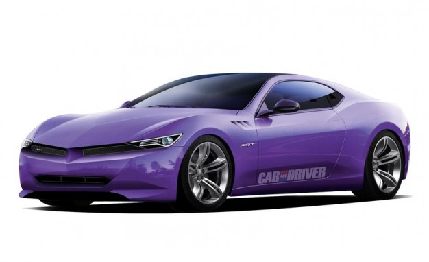 Srt Barracuda Artist S Rendering