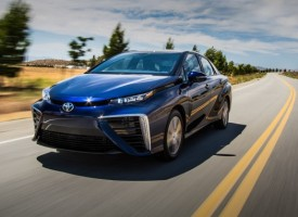 Cell Mate: 2016 Toyota Mirai Fuel-Cell Sedan Tested