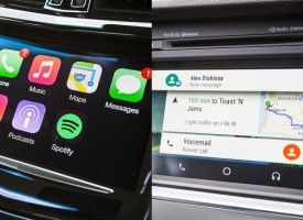 Apple CarPlay vs. Android Auto: We Test the Most Hyped Software of the Year