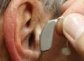 Hearing aids may slow mental decline in hard-of-hearing elderly