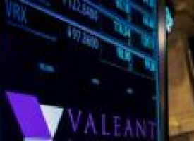 Valeant shares tumble 20 percent, retrace ground to 2013 levels