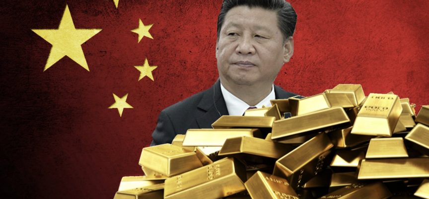 ALERT: China Now Possesses Up To A Shocking 12,000 Tonnes Of Gold And Last Week's Takedown Was The Desperate BIS