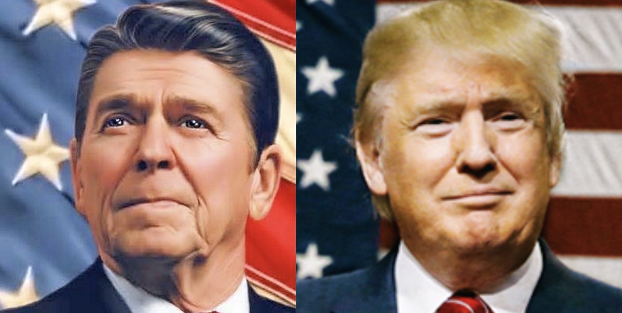 King World News - Look At The Shocking Difference Between When Ronald Reagan Took Office vs Donald Trump