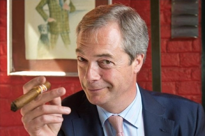 King World News - Nigel Farage - smile image
