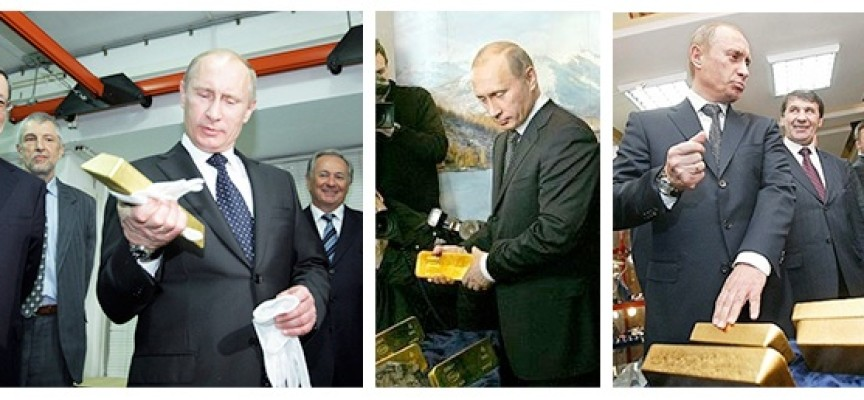 The Reason Putin Is Buying So Much Gold