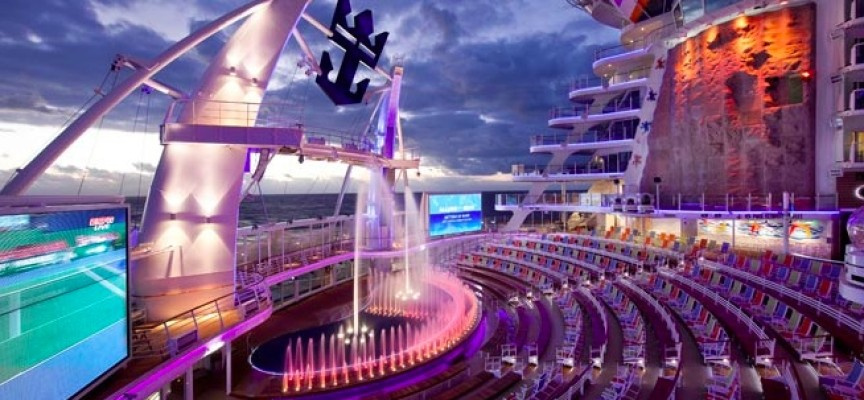 The Most High-Tech Cruise Ships In The World