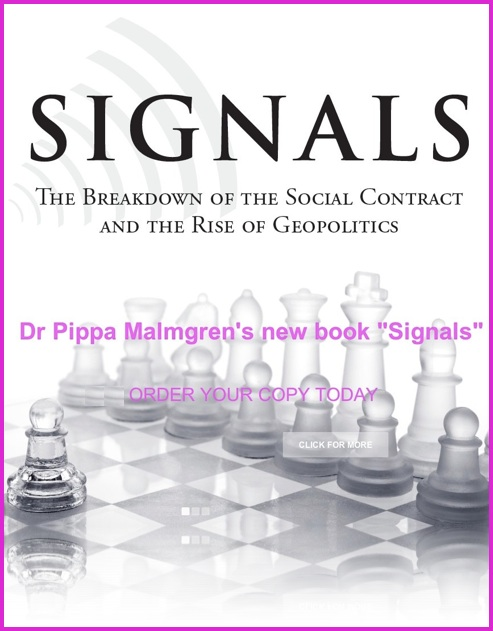 King World News - Dr. Pippa Malmgren - Signals