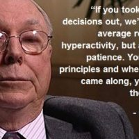 Warren Buffett's Partner Charlie Munger Says He's Surprised At What Central Banks Have Done