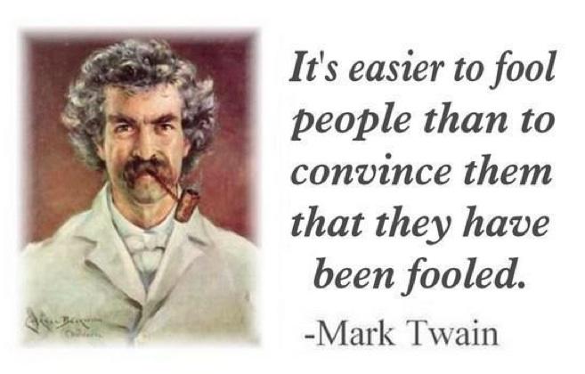King World News - Mark Twain - Quote