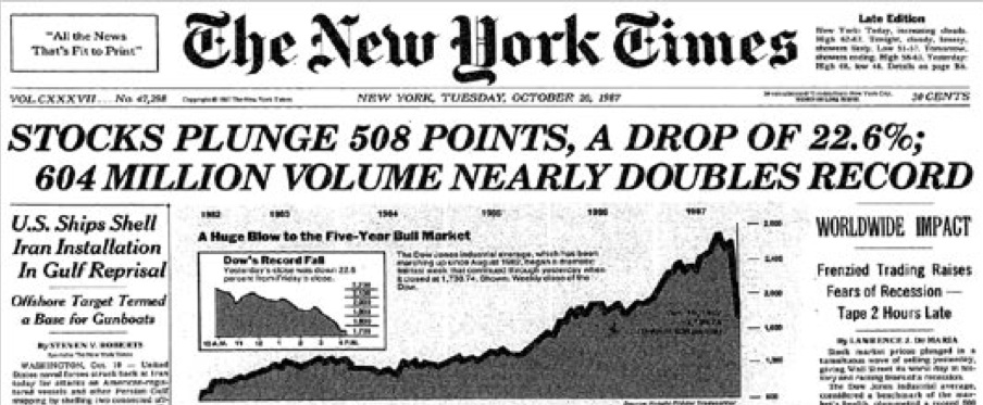 King World News - Marc Faber On The 1987 Crash