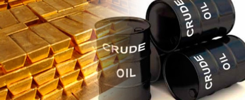 A Remarkable View Of The War In The Gold, U.S. Dollar And Crude Oil Markets