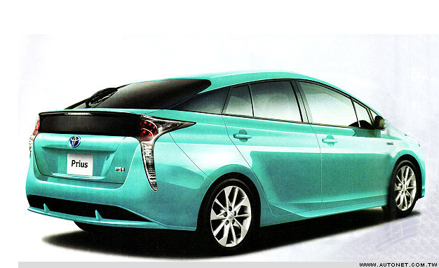 2016 Toyota Prius Phev Rendering