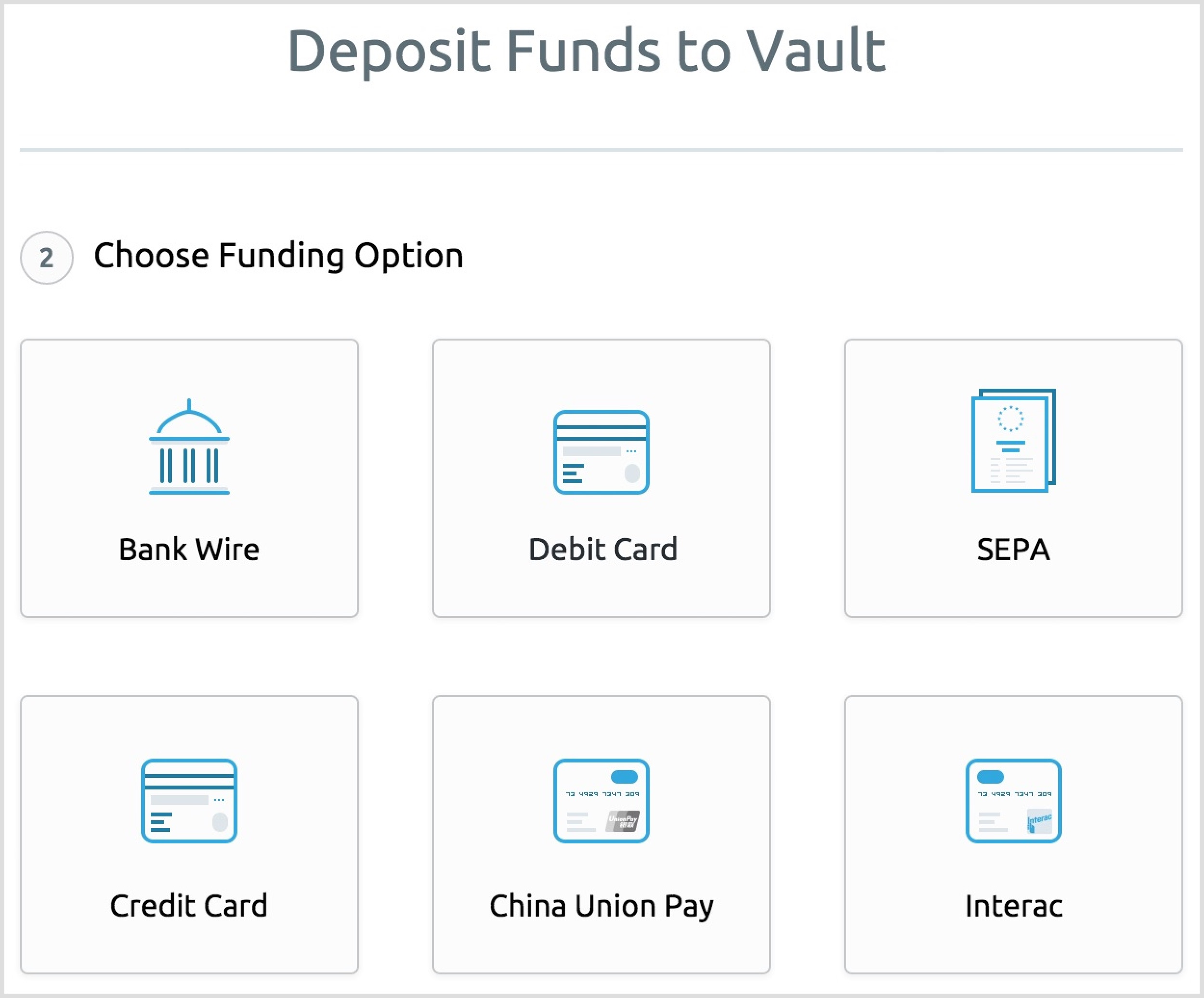 BitGold Deposits Funds to Vault