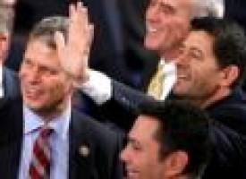 Republican Paul Ryan elected as House speaker, replacing Boehner