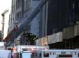 One killed in partial building collapse in New York