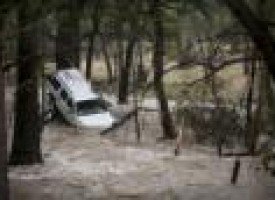 Two dead as torrential rains, tornadoes lash central Texas