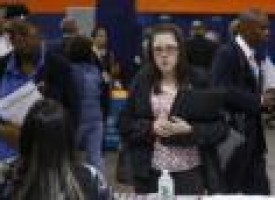 U.S. private hiring solid; trade deficit at seven-month low