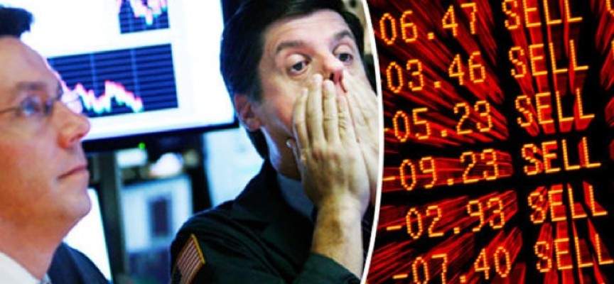 World Now On The Edge Of Total Panic As Gold Spikes $60 And Global Stock Markets Plunge
