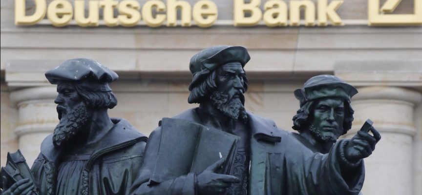 German Government Comments On Deutsche Bank As The Monetary Madness Continues