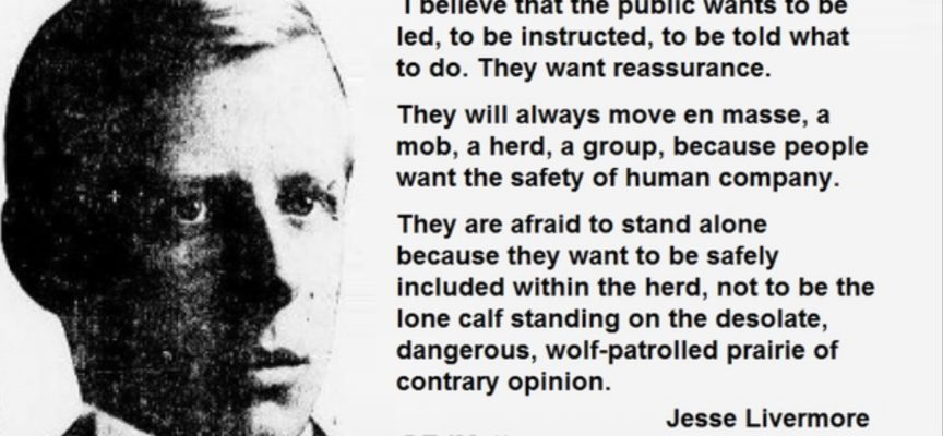 More Wisdom From Jesse Livermore And Some Key Market Notes On Friday The 13th