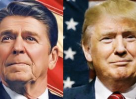 Look At The Shocking Difference Between When Ronald Reagan Took Office vs Donald Trump