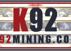 NEW: K92 MINING INC.