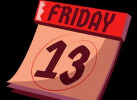 BUCKLE UP:  It's A Friday The 13th Trading Day…Take A Look At This!