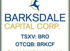 BARKSDALE CAPITAL CORP.