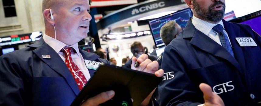 Dow Plunges Nearly 500 And Gold Surges $17