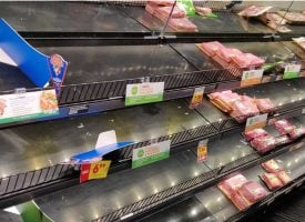Inflation Soaring As Supplies Of Groceries And Other Items Disappear