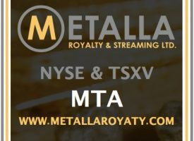 METALLA ROYALTY & STREAMING