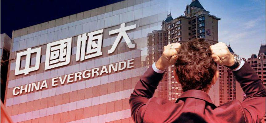 Global Stock Markets Sell Off On Evergrande Worries Amidst The Global Debt Binge